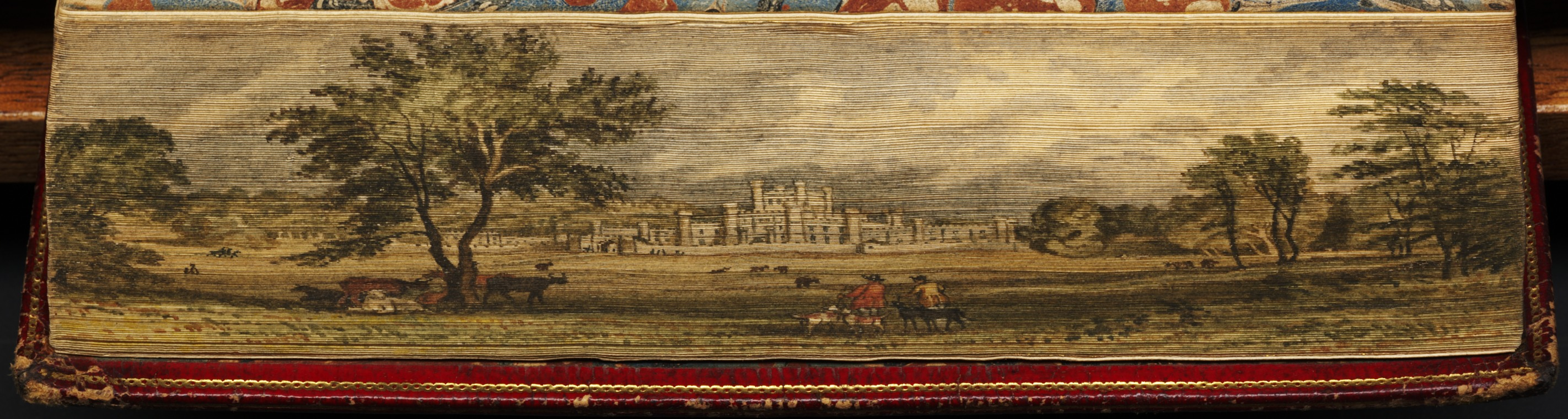 View of Lowther Castle, Westmoreland
