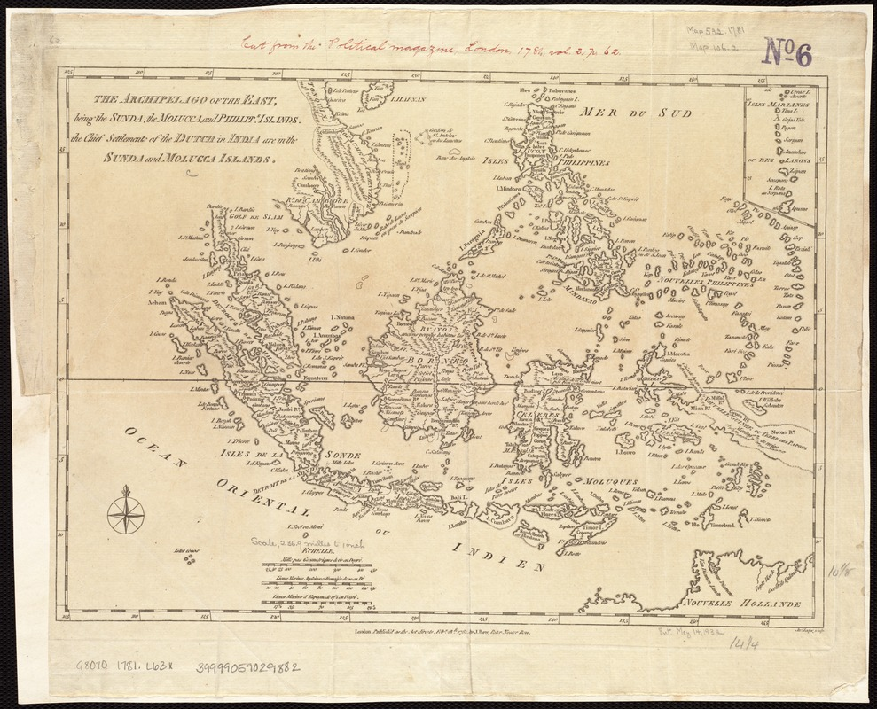 The archipelago of the East, being the Sunda, the Molucca, and Phillipps. Islands