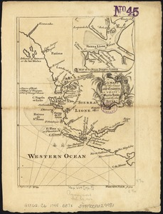 A map of the coast and country about Sierra Lione and Sherbro River