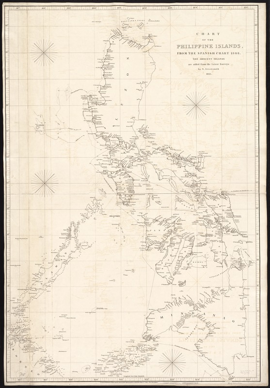 Chart of the Philippine Islands, from the Spanish chart 1808