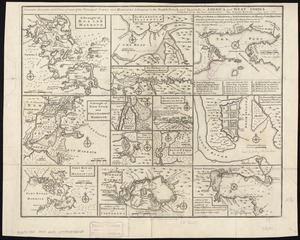 Particular draughts and plans of some of the principal towns and harbours belonging to the English, French, and Spaniards, in America and West Indies