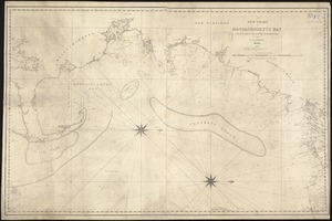 A new chart of Massachusetts Bay drawn from the latest authorities
