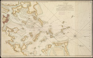 A chart of the Harbour of Boston, with the soundings, sailing-marks, and other directions