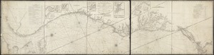A new and accurate chart (from Captain Holland's surveys) of the North American coast, for the navigation between Cape Cod in New England, and the Havanna in the Gulf of Florida