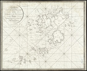 Heather's New and Improved Chart of the Isles of Scilly