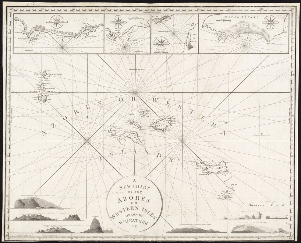 A new chart of the Azores or Western Isles