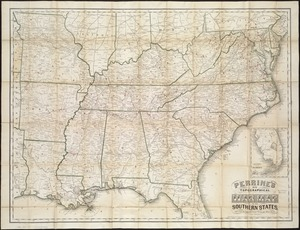 Perrine's new topographical war map of the southern states