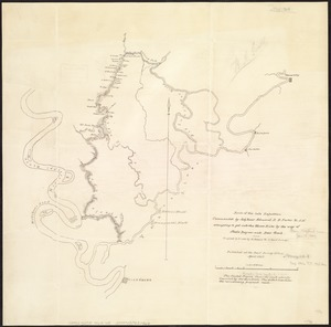 Route of the late expedition commanded by Act'g Rear Admiral D.D. Porter U.S.N. attempting to get into the Yazoo River by the way of Steels Bayou and Deer Creek