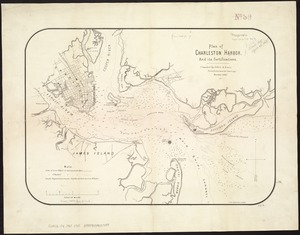 Plan of Charleston Harbor, and its fortifications
