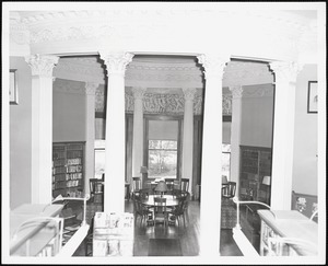Wayland Library, round room from catwalk