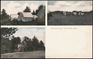 Sherwood Camp, Wayland, Mass.