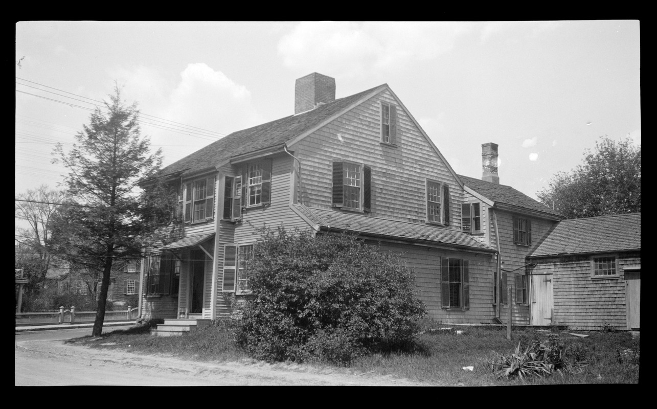 John Brewster House, 195 Main Street, from the southeast