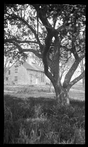 Major John Bradford House, 50 Landing Road, view through the trees