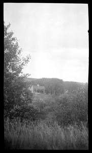 Major John Bradford House, 50 Landing Road, view from Abram's Hill