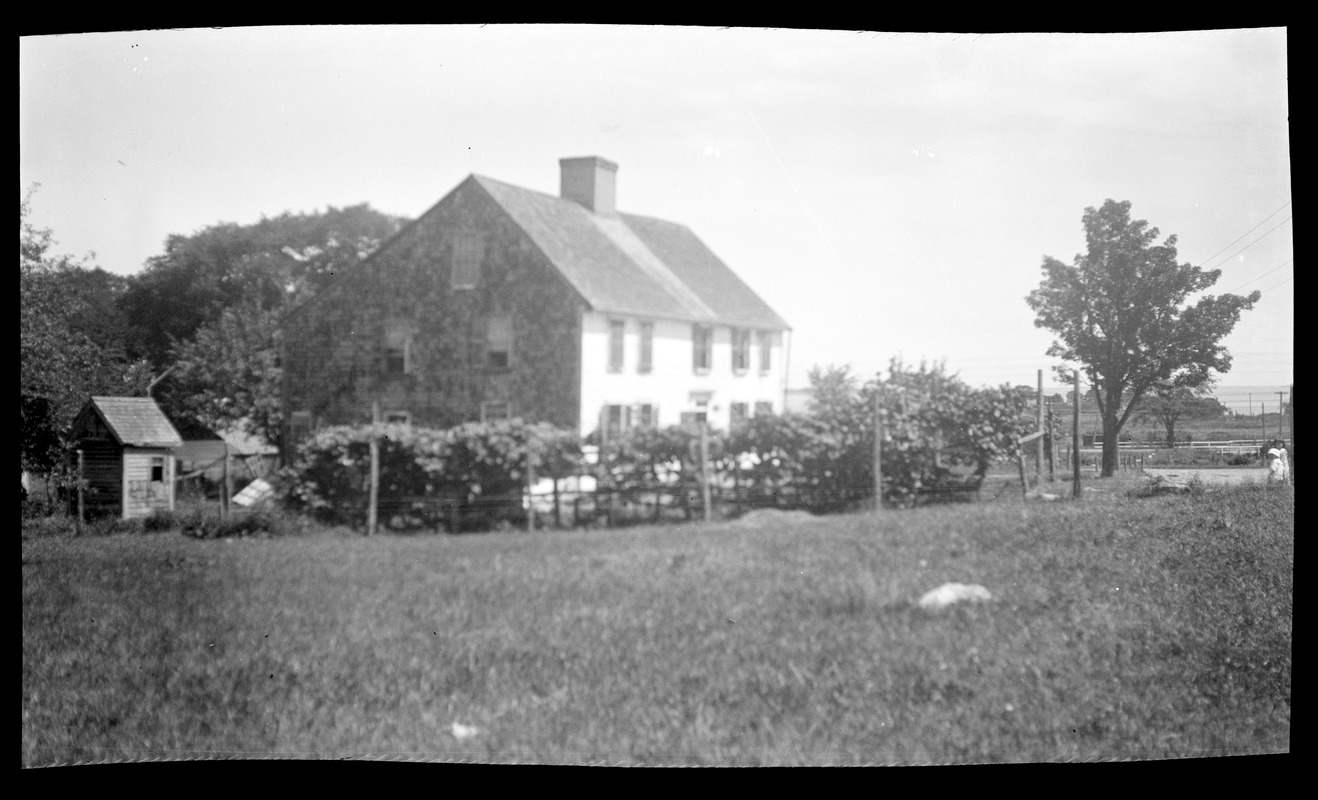 Samuel Gray House, Smith's Lane, from the southeast