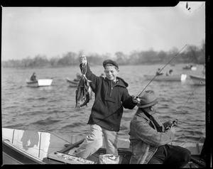 April 15, 1947, fishing on the first day of the season