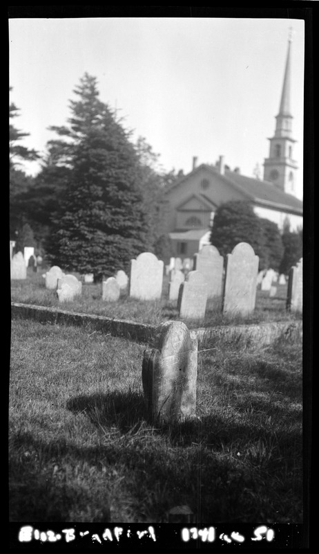 Gravestones in the Old Burying Ground