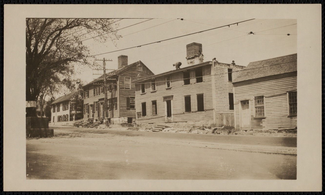Demolition of Foster-Drew-Glover House, 5 Summer Street