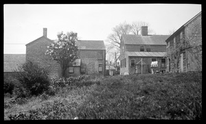 Rear view of houses along Summer Street at the Point
