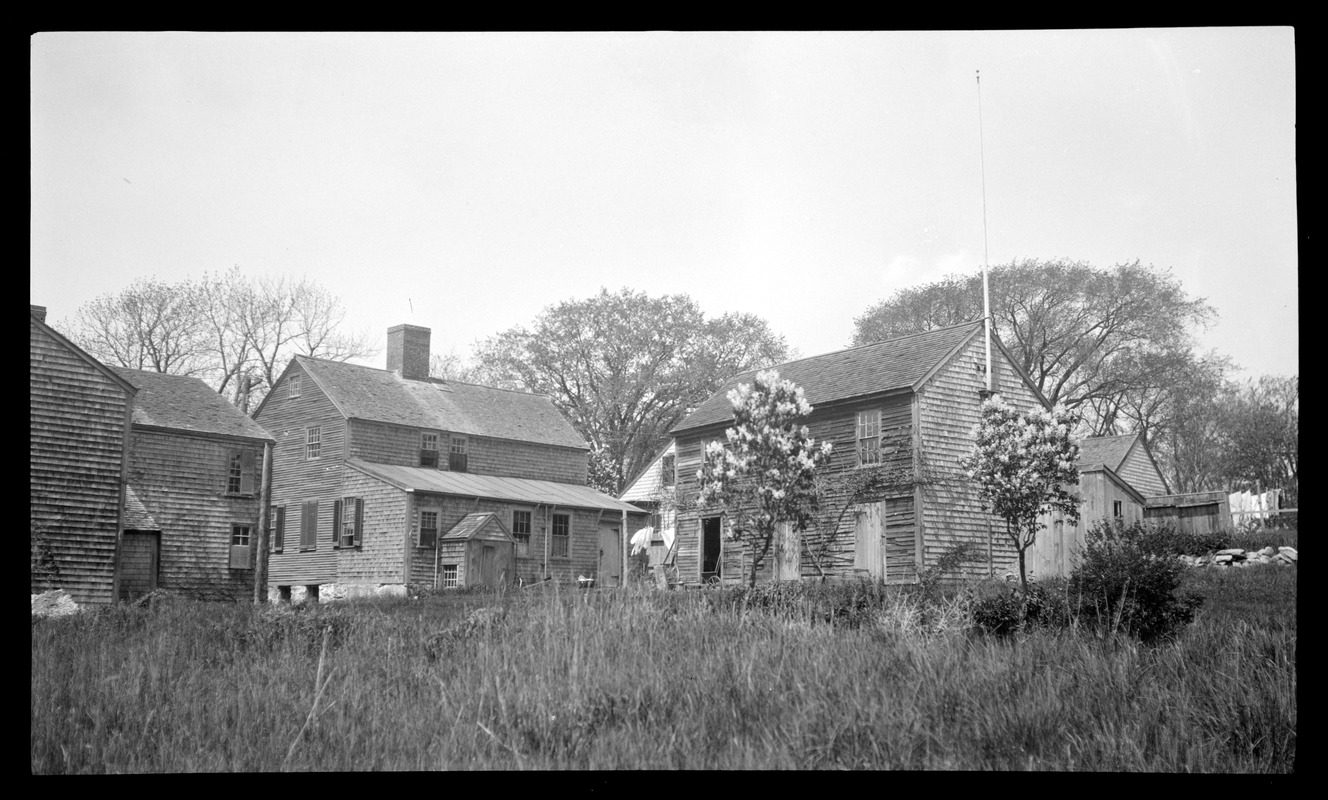Houses at the Point, view from the rear