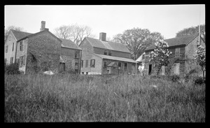 Houses at the Point, rear view
