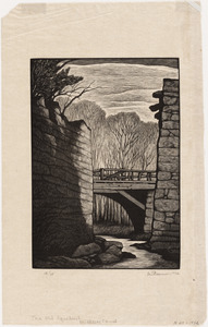 The old aqueduct, Middlesex canal