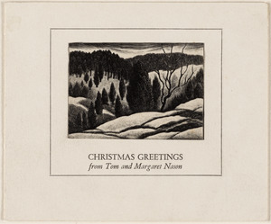 Christmas greetings from Tom and Margaret Nason