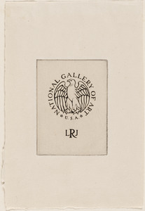 [Seal of the Lessing J. Rosenwald Collection, National Gallery of Art]