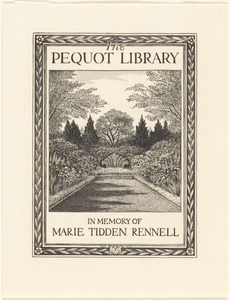 The Pequot Library, in memory of Marie Tidden Rennell