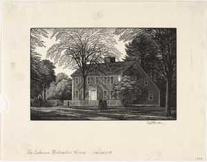 Solomon Richardson House, c. 1784