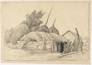"Study for ""Finnegan's Hovel"""