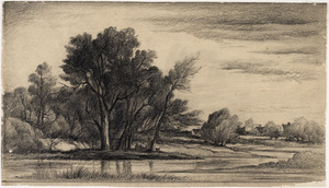 "Study for ""Amston Pond"""