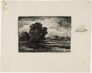 Study for Lieutenant River, Lyme