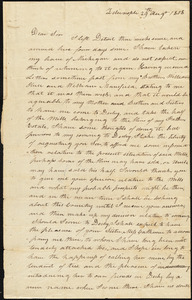 Abijah Hull to Lemon Stone, August 29, 1808