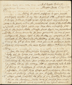 John Rodgers to Isaac Hull, Hampton Roads, August 4, 1810