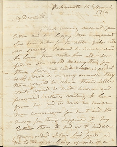 Isaac Hull to Mary Wheeler Hull, Portsmouth, November 15, 1814