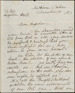 Ann McCurdy Hart Hull to Augusta Hull, New Haven, December 29, 1841