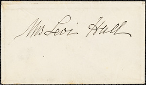 Ann McCurdy Hart Hull to Mary Wheeler Hull, Philadelphia, Feb. 4, 1848