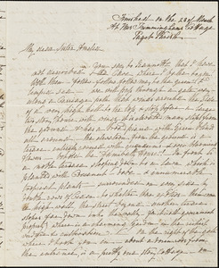 Ann McCurdy Hart Hull to Amelia Hart Hull, Bermuda, March 23, 1851(?)