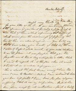 Ann McCurdy Hart Hull to Mary Wheeler Hull, Boston, February 27, [1813]