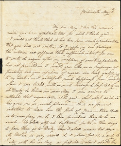 Ann McCurdy Hart Hull to Mary Wheeler Hull, Portsmouth, N.H., May 16, [1813]