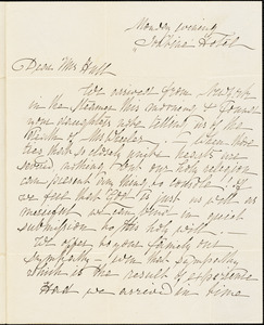 Ann McCurdy Hart Hull to Mary Wheeler Hull, New Haven, Ct., June 28, [1813]