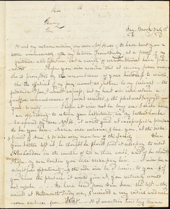 Mary Wheeler Hull, letter received from Saybrook, July 1, 18??