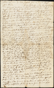Hull, Joseph. Deed, October 4, 1763