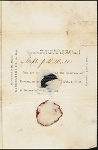 Hull, Joseph B. Miscellaneous correspondence and documents