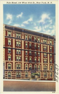 Yale Hotel, 316 West 97th St., New York, N. Y.