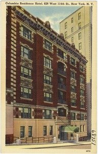 Columbia Residence Hotel, 628 West 114th St., New York, N. Y.