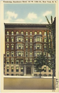 Cambridge Residence Hotel, 141 W. 110th St., New York, N. Y.