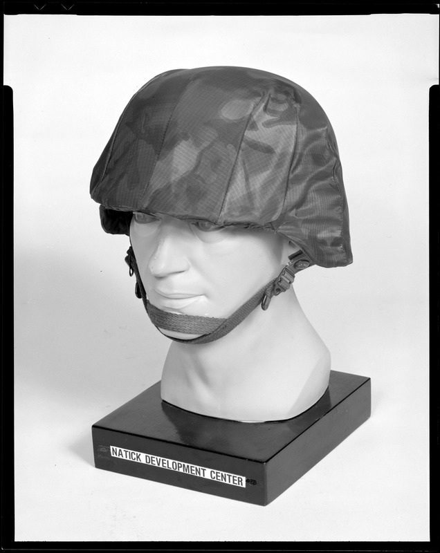 Cemel, kevlar helmet with camouflage cover