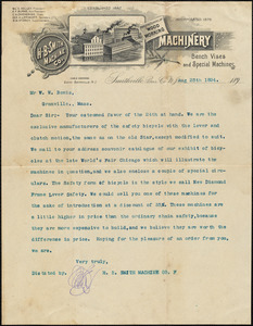 Noble & Cooley Business Correspondence Collection